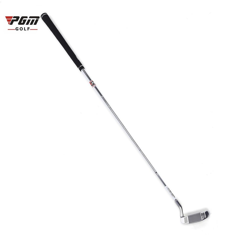 Prix pour Pgm de golf double-côté déchiqueteuse maillet tige de broyage tige de poussée en a résulté un modèle en acier inoxydable head écaillage club (argent-blanc)