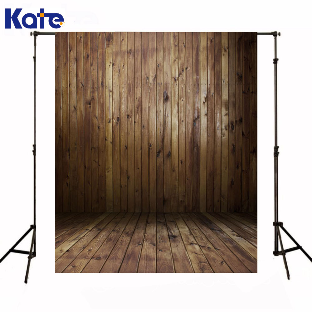 Kate Newborn Baby Fotografia Backdrops Dark Wood Texture Wall  Photography Background Wooden Floor Studio Background kate newborn baby backgrounds fotografia light wood wall fundo fotografico madeira old wooden floor backdrops for photo studio