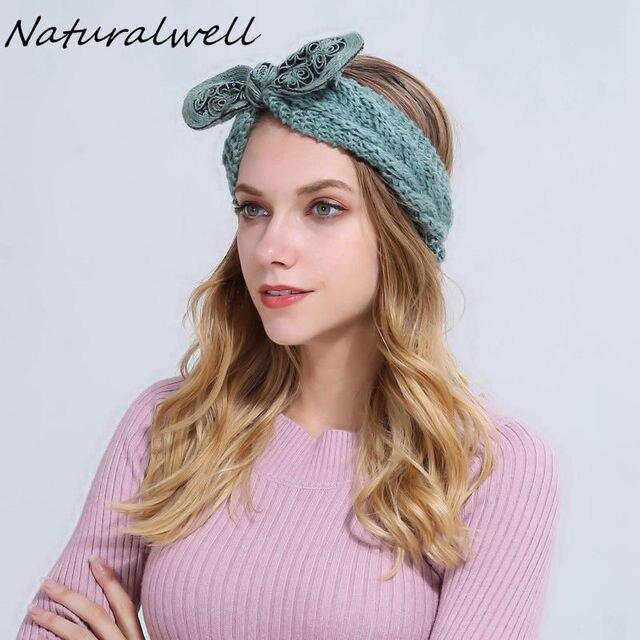 Bandeau cheveux femme au crochet