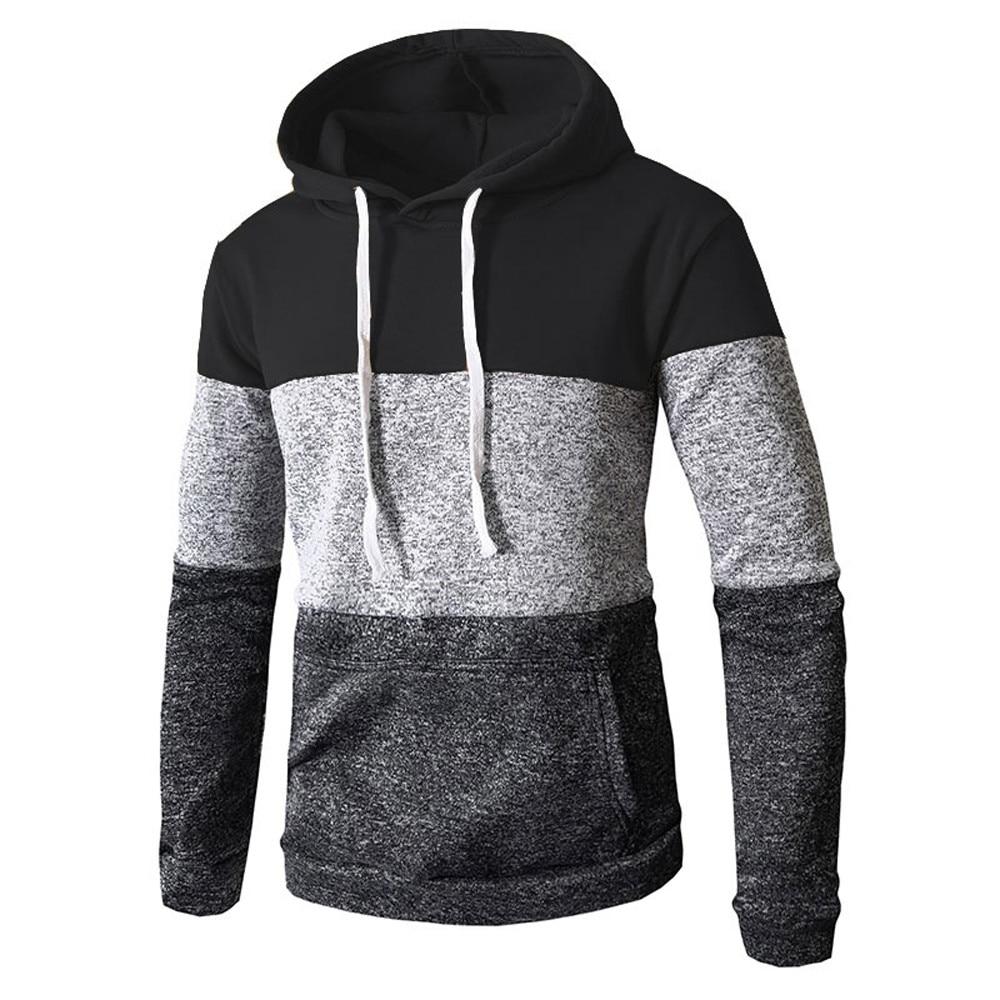 Mens Autumn Winter Casual Long Sleeve Slim Pocket Fit Bts Hoodies Blouse Top Clothing For Men Sweatshirts Fashion Vetements 10