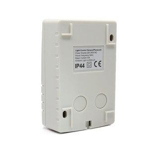 Image 3 - Interruttore fotocellula automatico per sensore di controllo della luce IP44 220VAC esterno di alta qualità per lampade a Led