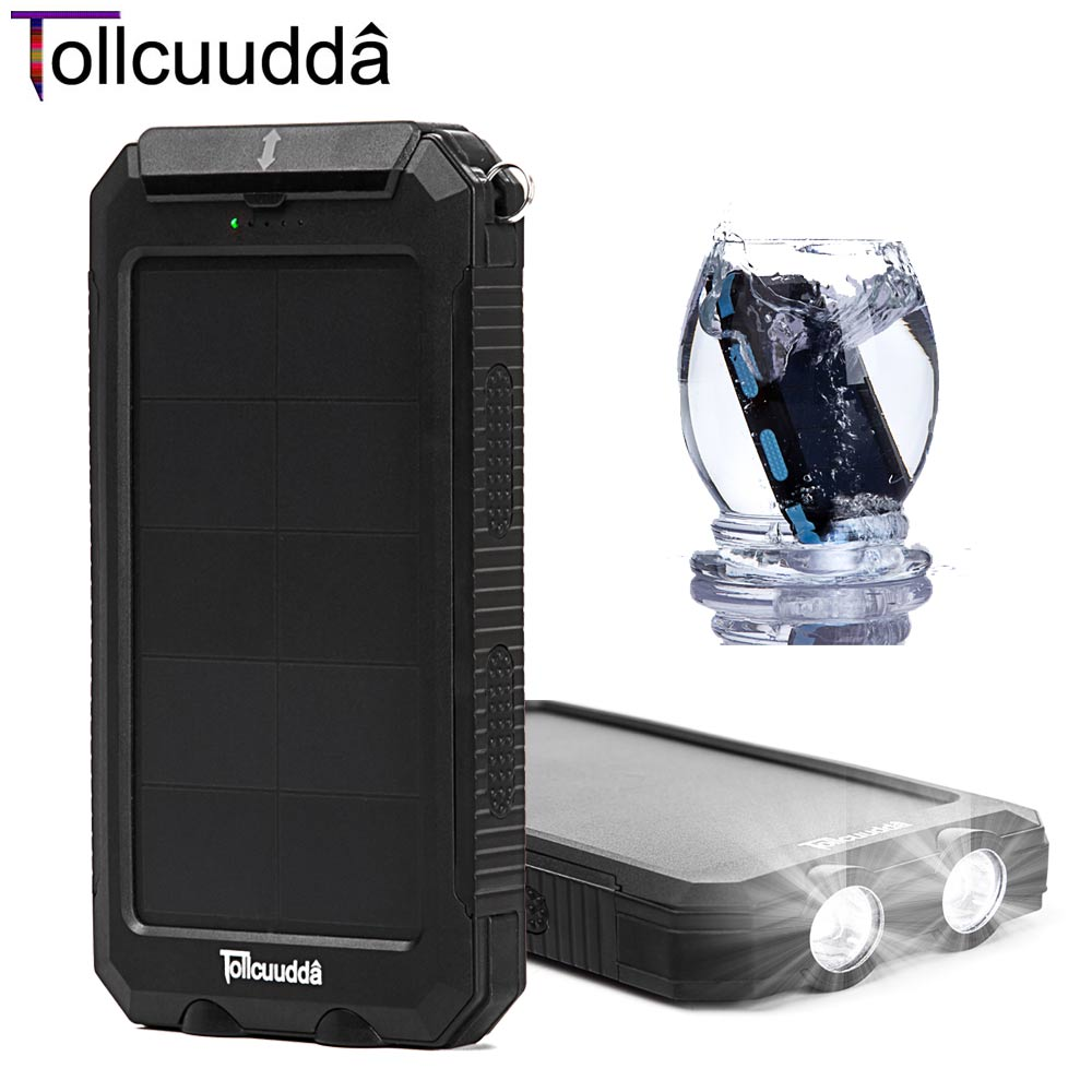 Tollcuudda Solar Poverbank Mobile Phone Power Bank...
