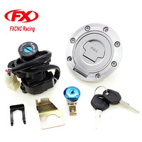 CNC Motorcycle Ignition Switch Lock Fuel Gas Cap Lock And Seat Lock With Keys For Yamaha YZF R1 R6 R 1 R 6 1992 2012 92 93 94