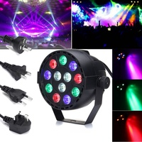 RGBW LED Stage Light DMX 30W Voice Remote Control LED Stage Lighting Effect Laser For Party