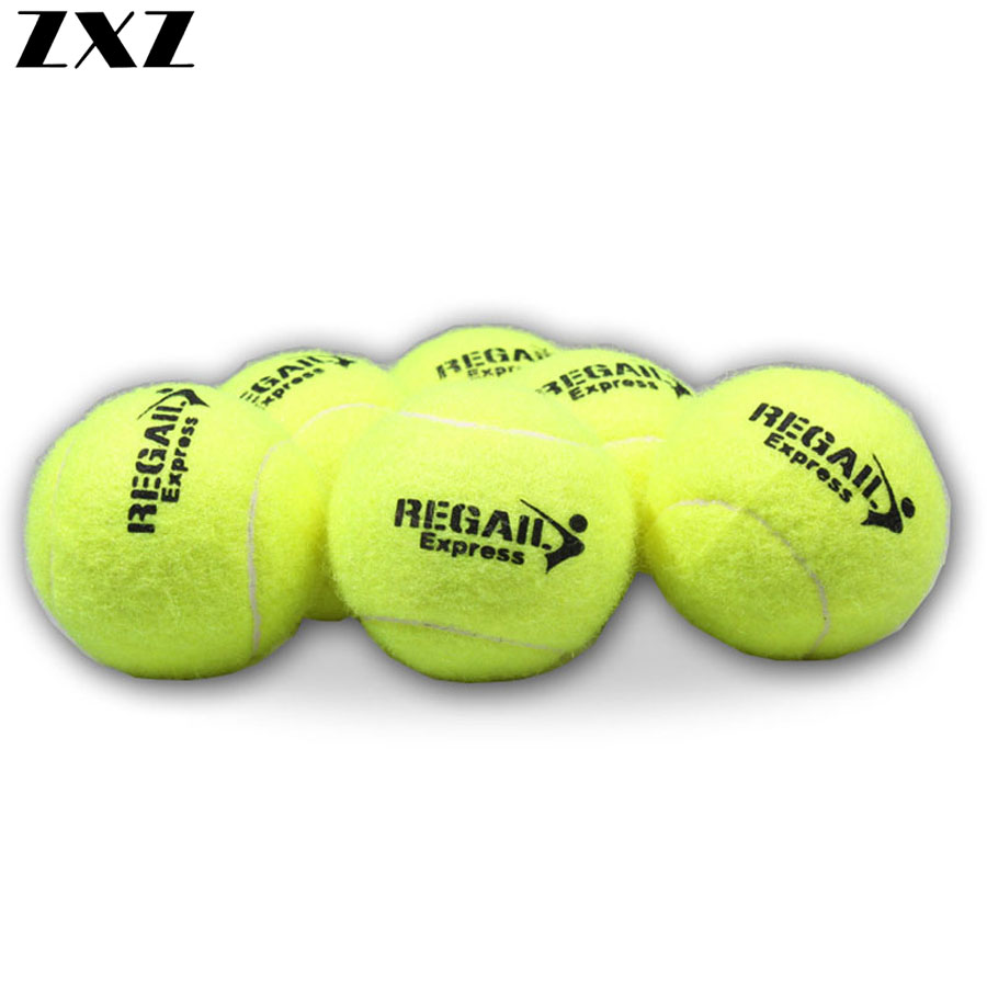 10Pcs Threading Rubber Tennis Ball High Resilience Durable Tennis Practice Balls For School Club Competition Training Exercises