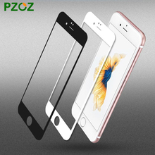 PZOZ For iphone 6 s plus tempered glass Anti Blue Light 3D screen protector full cover HD slim 0.3mm film ipone 6 s 4.7&5.5