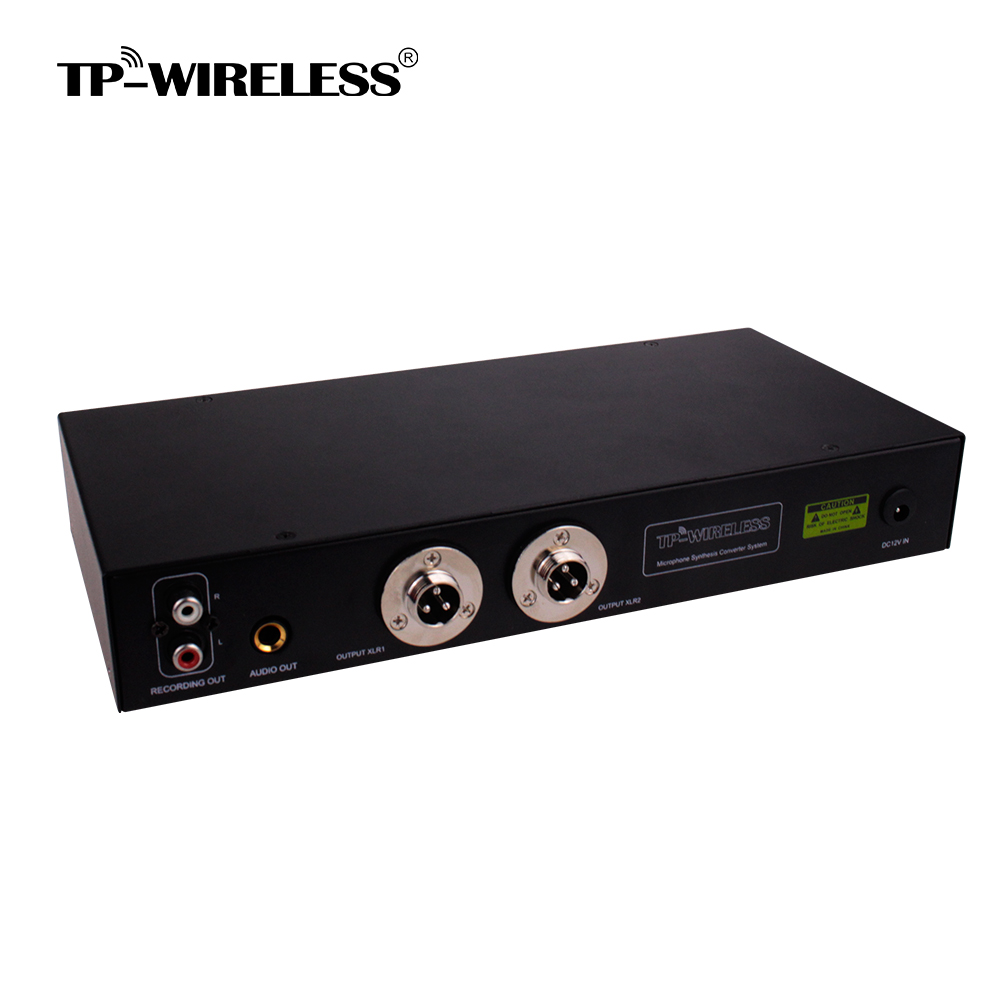tp wireless 6 channels microphone mixer microphone hub with 2 channels 100 meters balanced xlr. Black Bedroom Furniture Sets. Home Design Ideas