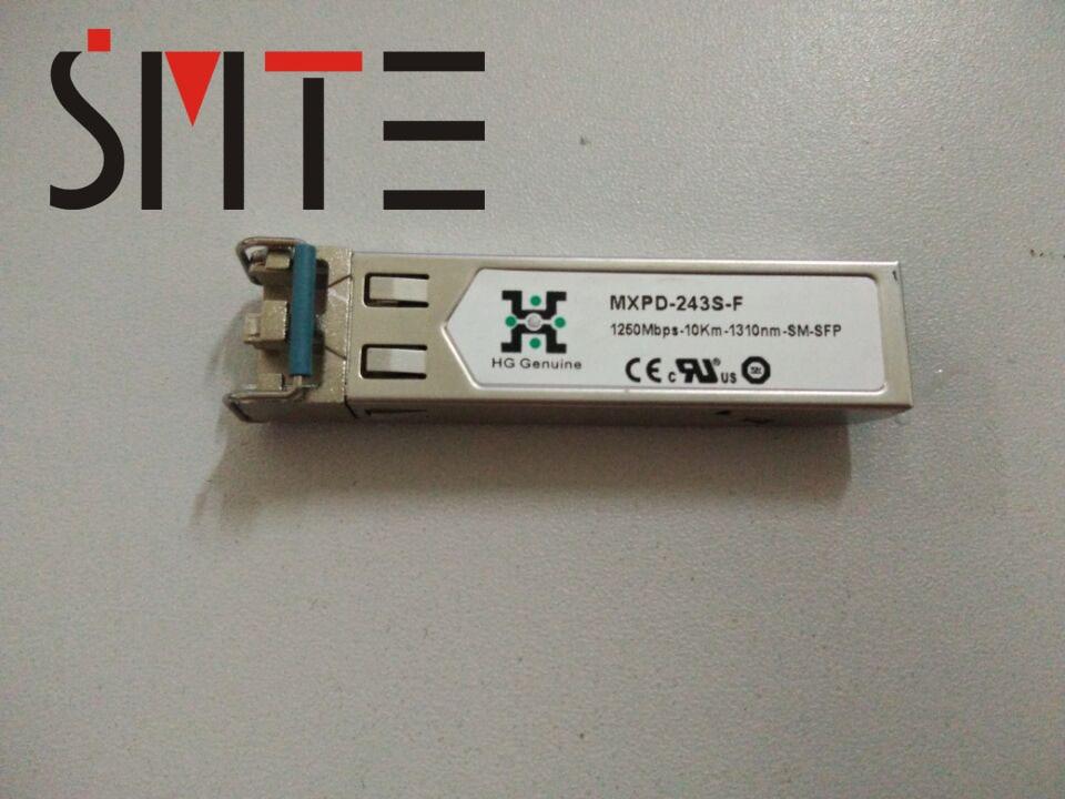 Original MXP-243S-F 1250Mbps-10KM-1310nm-SM-SFP Fiber Optic Equipment Module
