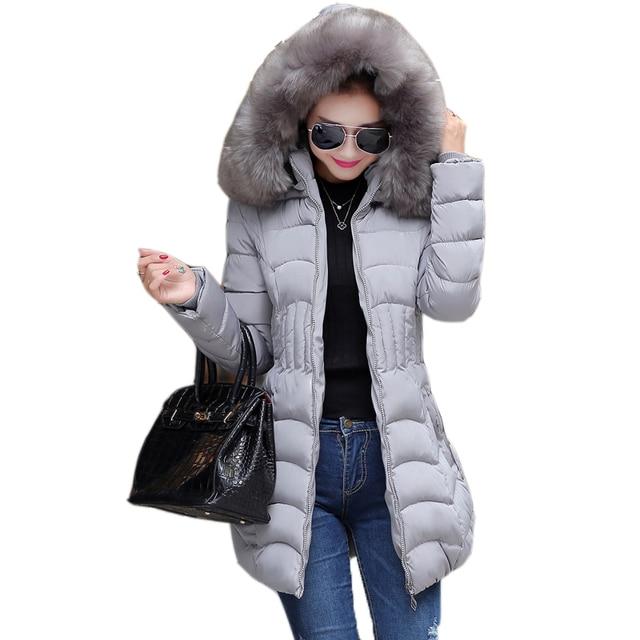 Манто femme зимняя куртка пальто женщин parka женщин куртки и пальто abrigos invierno chaquetas mujer y 2015 меховой моды Тонкий