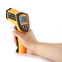 BENETECH GM700 Digital Infrared Thermometer Non Contact Infrared Temperature Pyrometer IR Laser Gun 50~750 degree