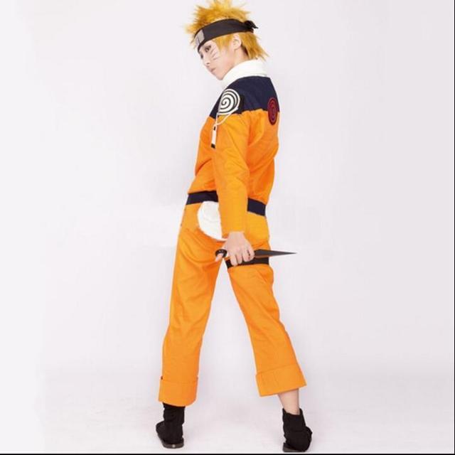NARUTO Uzumaki Cosplay Costume