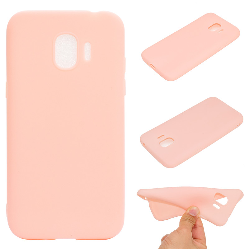 Candy Color Case For Samsung Galaxy <font><b>J2</b></font> Pro 2018 Cover Soft TPU Mobie Phone Cases <font><b>Capinha</b></font> For Samsung <font><b>J2</b></font> Pro 2018 image