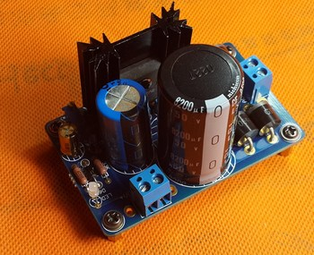 LT1083 output 3.3-9V 10-30v Regulated dc power supply board:linear/adjustable/HIFI linear power supply xj image