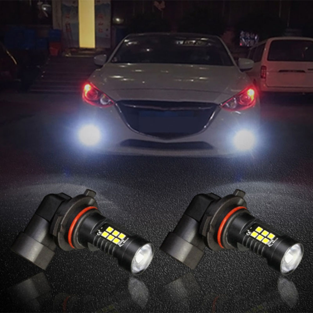 2Pcs for 9006/HB4 3030 21SMD Bulb Fog Lights 1200LM 6000K Car White Running Auto <font><b>Lamp</b></font> <font><b>Led</b></font> Light 12V 24V image