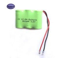 Super Mini Universele Plug NIMH 3.6 V 300 mAh 3x1/2AAA Tafel Bureau Draadloze Telefoon Oplaadbare Batterij Pack-in Batterij pack van Consumentenelektronica op