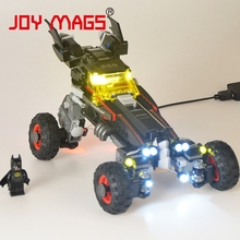 LED Building Blocks Kit for 7111 Batman Chariot Tumbler Joker Super Hero Compatible With 70905 (Model is not included)