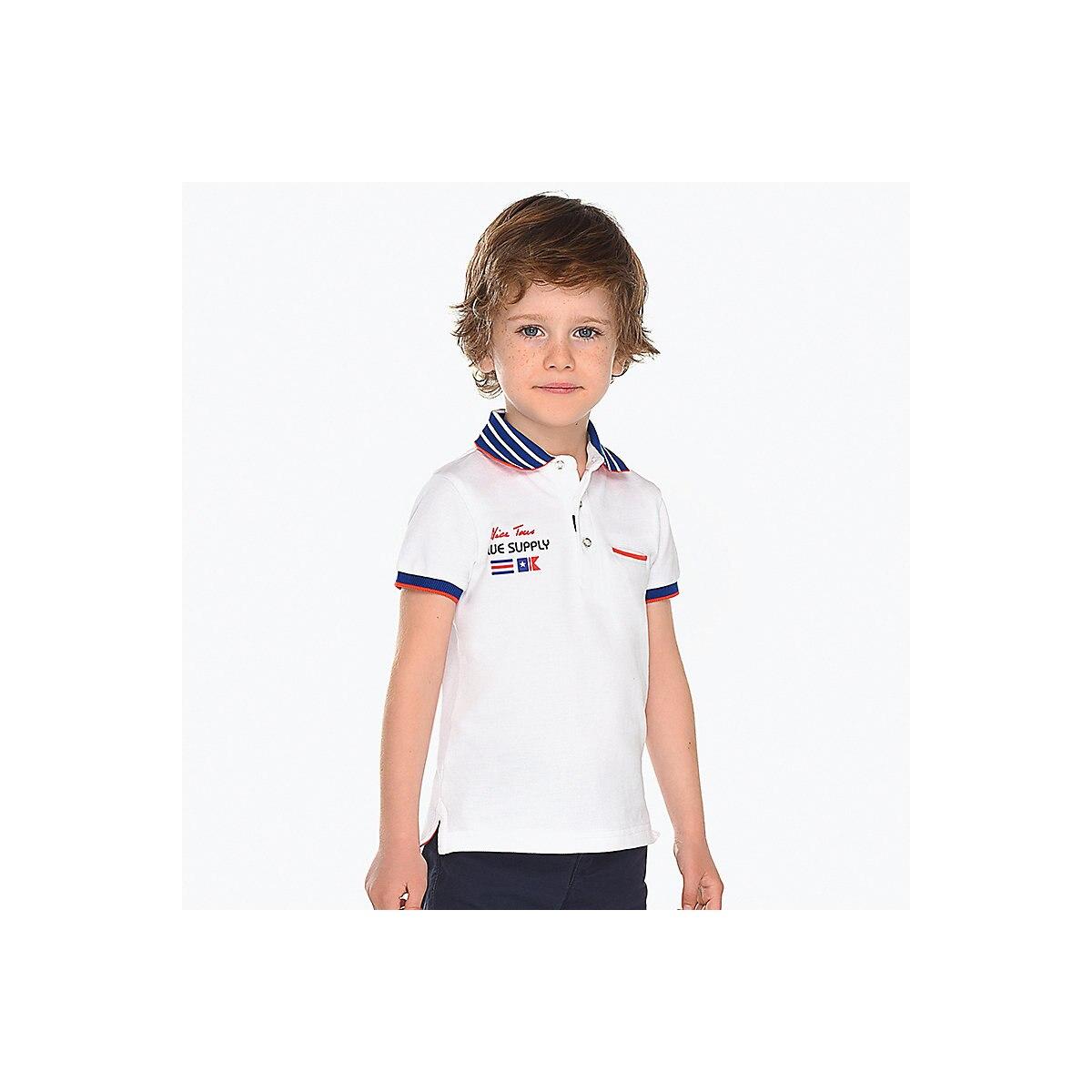 MAYORAL Polo Shirts 10685201 children clothing t-shirt shirt the print for boys