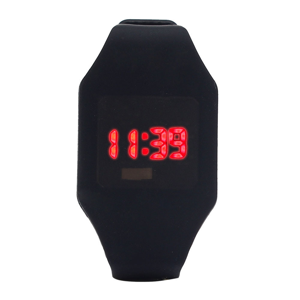 Sport Watches For Men Womens Silicone LED Watch Sports Bracelet Digital Wrist Watch Cheap Watches Free shipping Feida