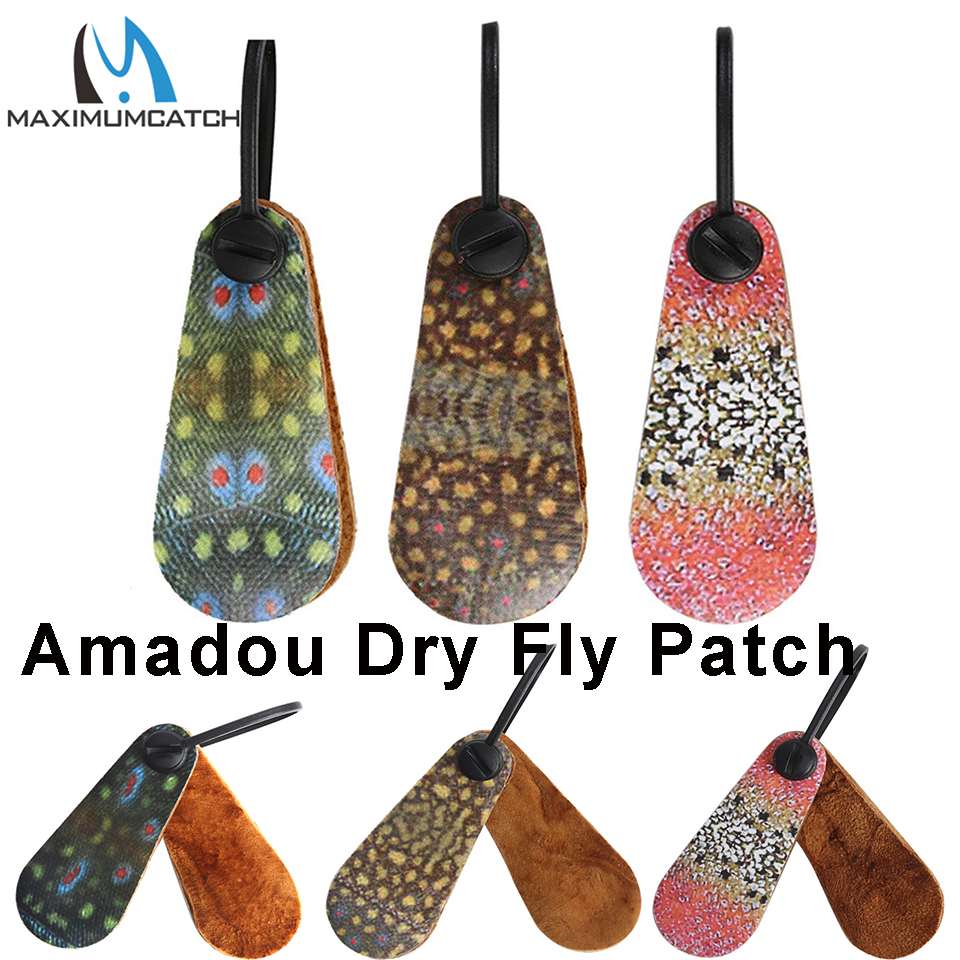 Maximumcatch Troutskin Amadou Fly Drying Patch Absorbing Fishing Accessory Fishing Tackle|Fishing Tools| |  - title=