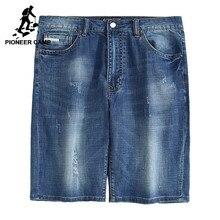 Pioneer Camp Neue hellblaue jeans shorts männer marke kleidung lässig sommer herren shorts top qualität männlichen bermuda shorts ADK703102