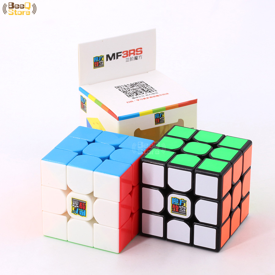 Image 5 - Mofangjiaoshi  MF3rs & MF3rs2 Magic Cube 3x3x3 Speed Cube 56mm Puzzle Magico Cubo Black Stickerless Educational Toy Kid MF3RS v2-in Magic Cubes from Toys & Hobbies