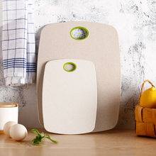 2pcs/Set Chopping Board Non-Slip Block Cutting Board Set Eco-Friendly Wheat Straw Kitchen Meat Fruit Food Vegetable Board Tools kitchen plastic cutting board non slip frosted kitchen cutting board vegetable meat tools kitchen accessories chopping board