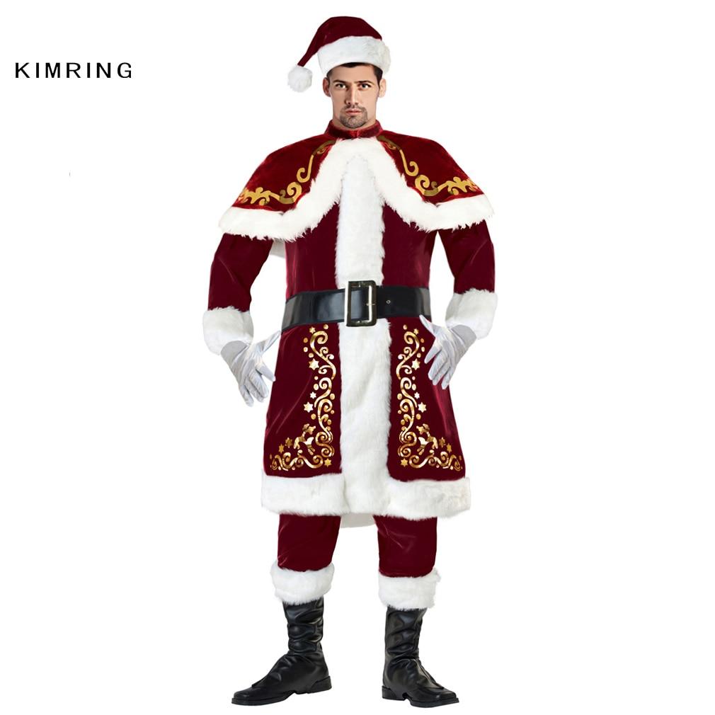 Aliexpress.com : Buy Kimring Deluxe Santa Claus Christmas ...