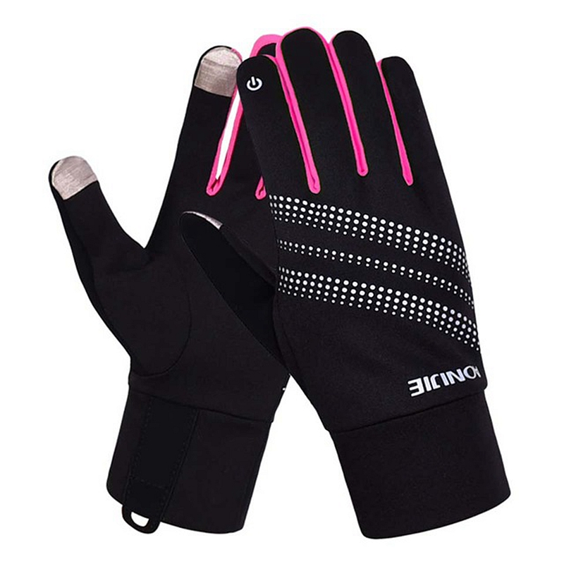 AONIJIE M50 Full Finger Screen Gloves Outdoor Sports Gloves Men Women Warm Windproof Running Cycling Hiking Climbing Ski 2 Sizes