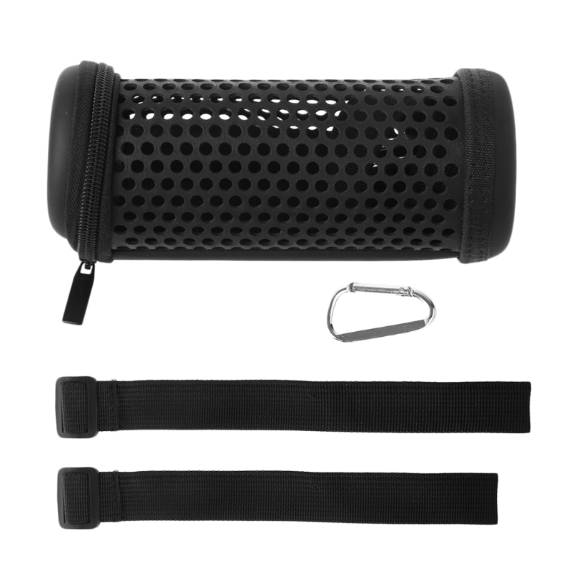 ALITER Bike Mount Hollowed Mesh Case Carry Bag Sleeve For Flip 3 Bluetooth Speaker leather