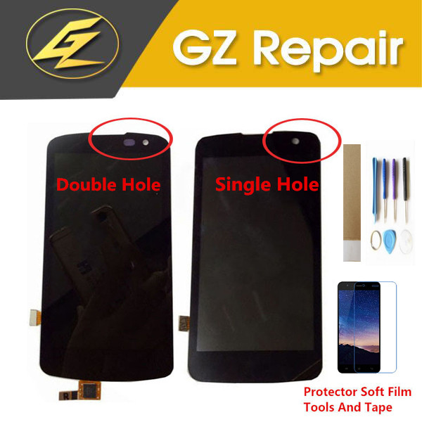 4.5  For LG K4 LTE K4 4G K120AR K120E K120 And K130 K130E LCD Display With Touch Screen Sensor Digitizer Black Color With Kits4.5  For LG K4 LTE K4 4G K120AR K120E K120 And K130 K130E LCD Display With Touch Screen Sensor Digitizer Black Color With Kits