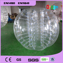 1.7m 0.8mm PVC inflatable bubblesoccer/inflataer bubble ball/bumper body ball for team games