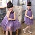 New arrival baby girls children kids fashion flower tutu dress girl birthday wedding party tutu gowns dress clothing