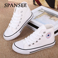 Estilo clásico de alta superior de lona de los niños transpirable shoes niños chica moda casual shoes marca kids shoes sneakers trainers pisos