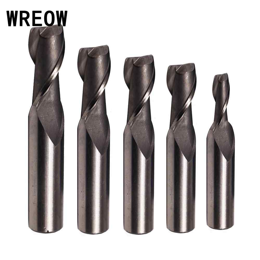 Metal End Mill Cutter 1Pcs Tools 3//4Inch Router Straight Shank CNC Carbide