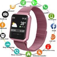 New Fashion Men Smartwatch Message Reminder Smart Watches Waterproof Smart Watch Heart Rate Tracker Sport Watches For Women