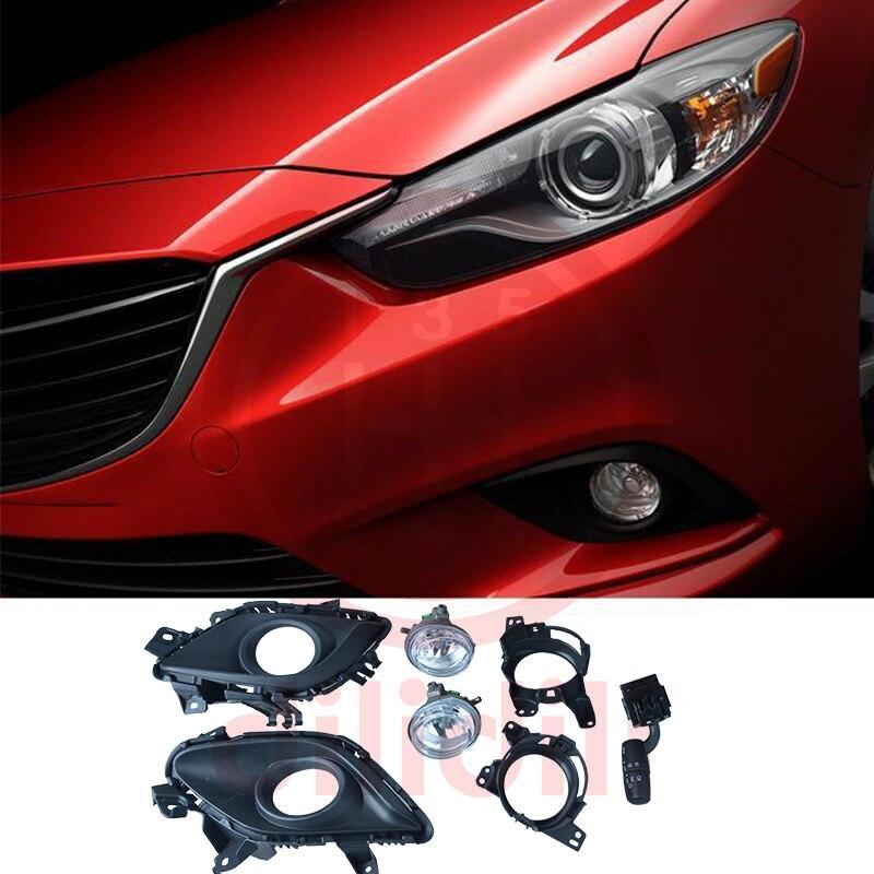 Kit de lampes halogènes anti-brouillard pour Mazda 6 mazda6 2014-2015 sans auto