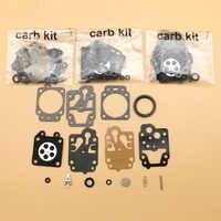 4 unids/lote carburador Carb Kit de reparación de reconstrucción para HONDA GX35 GX25 GX 35 25 Motor de gasolina Motor generador recortador piezas