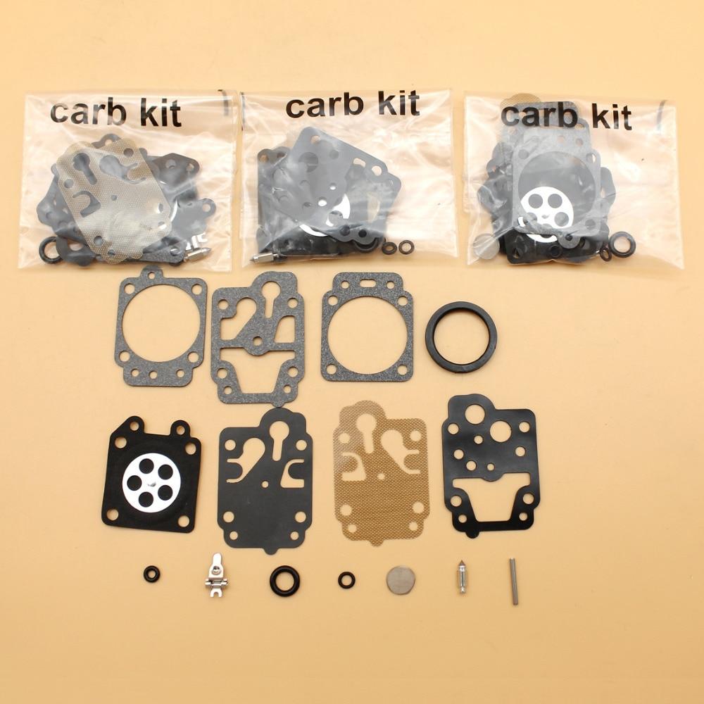 4Pcs/lot Carburetor Carb Rebuild Repair Kit For HONDA GX35 GX25 GX 35 25 Gasoline Engine Motor Generator Trimmer Parts