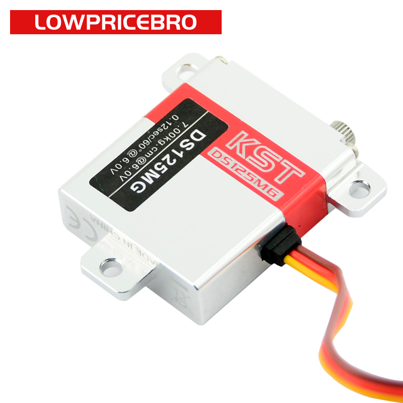 KST DS125MG 10mm 7KG High Torque Metal Gear Digital Servo for Fixed wing Drone UAV Helicopter