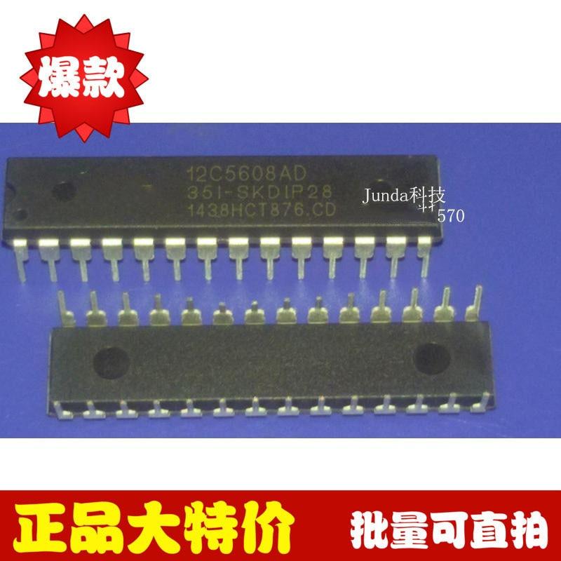 1PCS Original STC12C5608AD-35I-SKDIP28 STC12C5608AD Microcontroller IC DIP-28 C