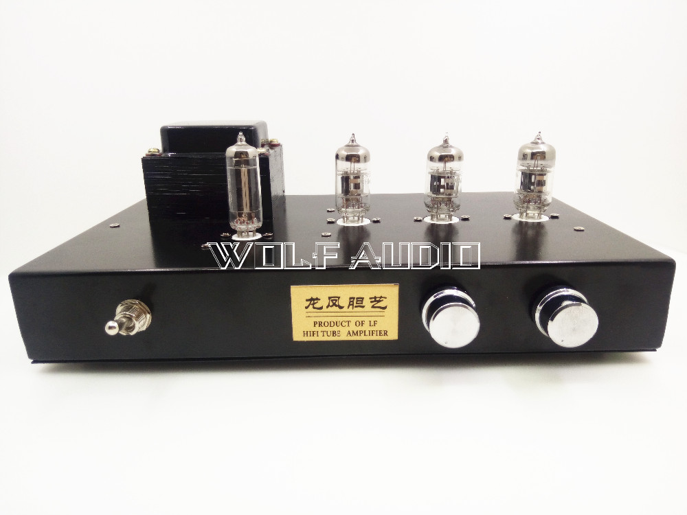 12AX7B+6Z4 Vacuum Tube Preamplifier HiFi Stereo Finished Preamp Refer Marantz M7 Tube Preamp finished hifi advanced relay volume controller balanced preamplifier passive preamp