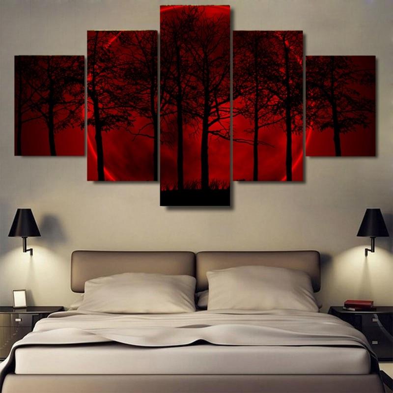Canvas Wall Art Poster Quadro Per Soggiorno Stampe HD immagini 5 ...