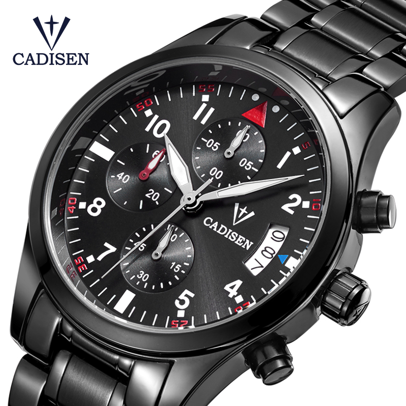 Cadisen Watch Mænd Fashion Sport Quartz Watches Topmærke Luksus - Mænds ure