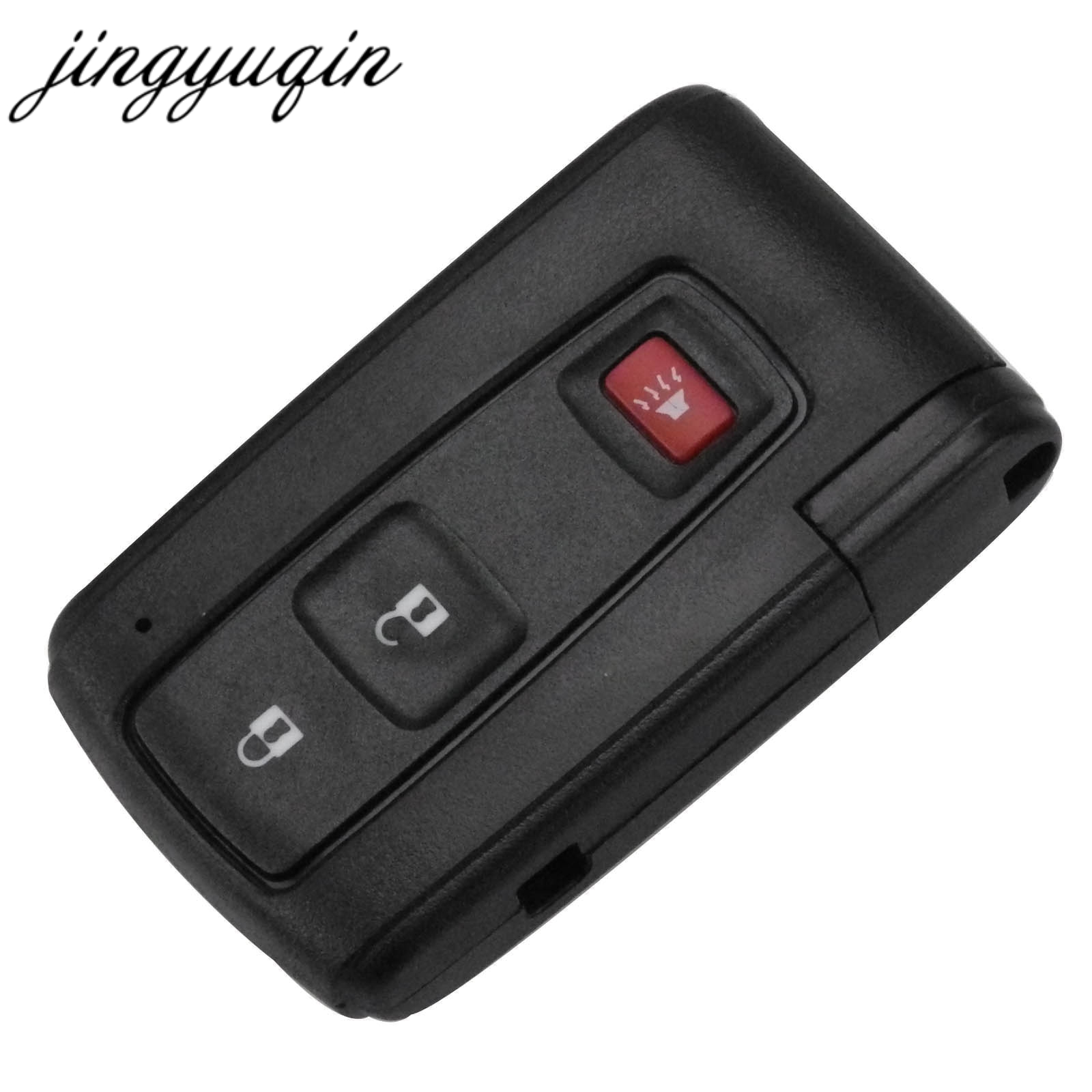 все цены на jingyuqin 2+1 3 Buttons Keyless Smart Remote Key Shell Case Fob For Toyota Prius 2004-2009 Toy43 Blade Replacement онлайн
