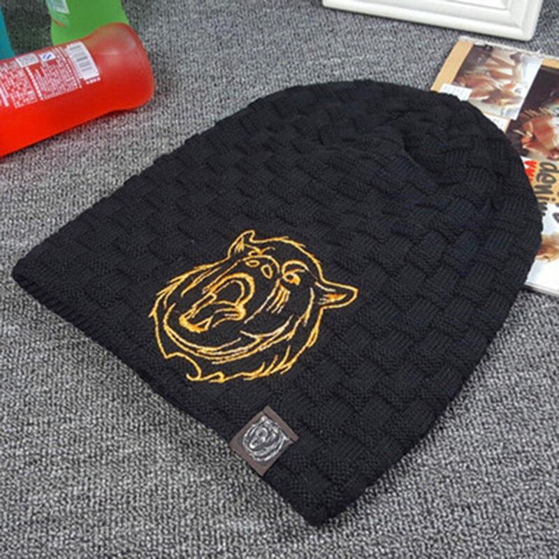 Gorros de punto sombrero hombres sombreros de invierno para hombres 2018  marca skullies invierno sombrero de piel caliente gorros máscara balaclava  Cap Lobo ... 9035dc8f5ad