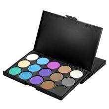 Popfeel Natural 15 Colors Eye Shadow Palette Comestic Nude Long Lasting Makeup Eyeshadow Make Up Set