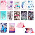 "Butterfly Owl Paint PU Leather Stand Case Cover For Samsung Galaxy Tab E T560 T561 Tablet Case For Samsung Tab E 9.6"" SM-T560"
