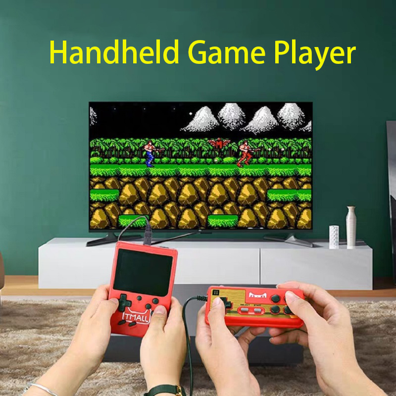 Hot Portable Handheld Game Players Retro Game Console Built-In 400 Games Support 2 Player 8-Bit 3.0 Inch For Child Nostalgic