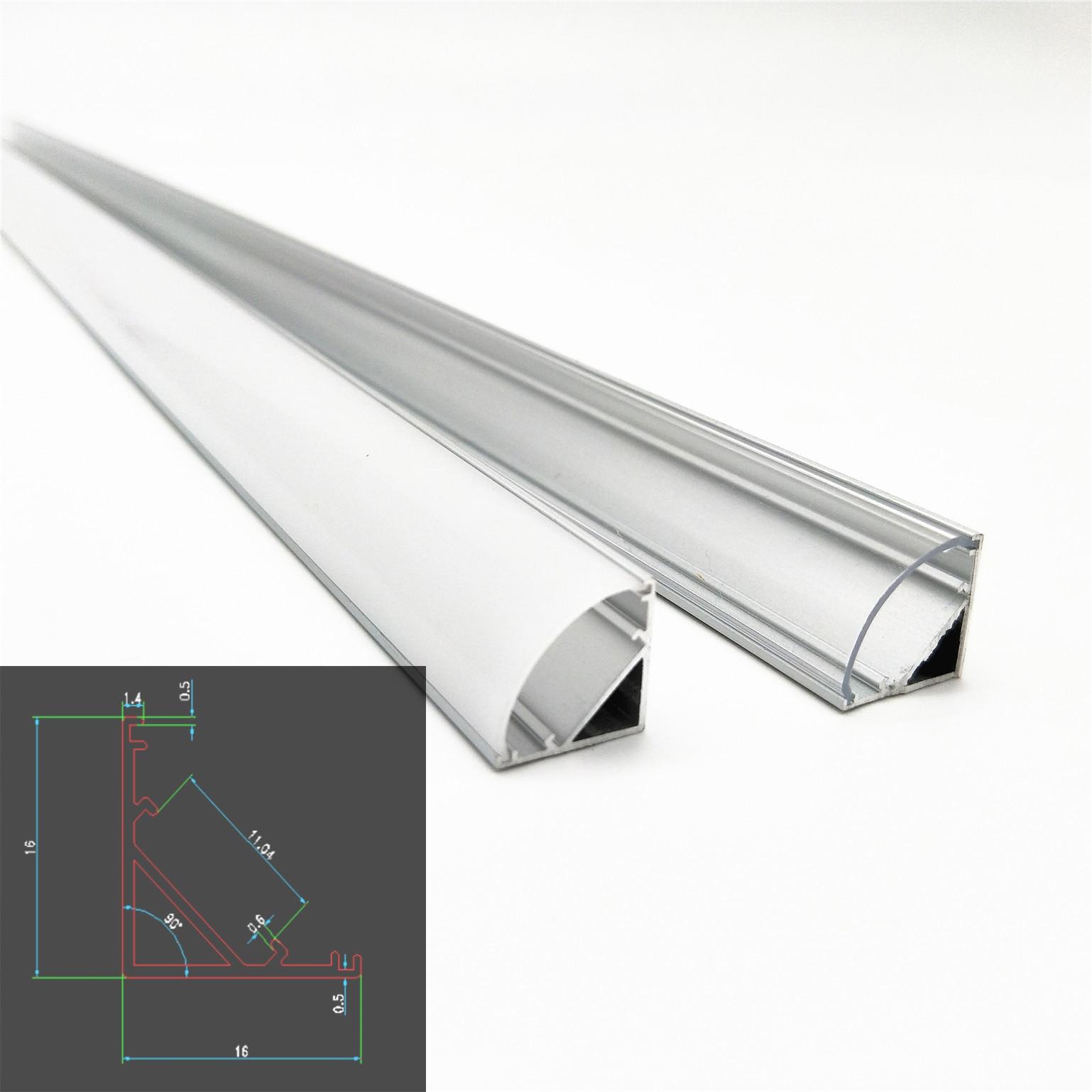 4 x 50cm Weiß LED Streifen Beleuchtung Glas Schrank Regal Display Licht Set