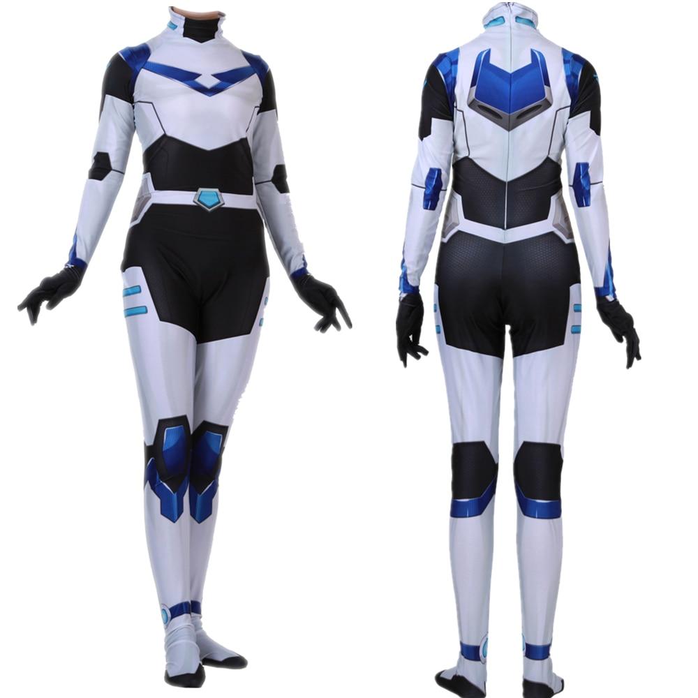 Adult Kids Voltron Legendary Defender Cosplay Costume Blue Paladin Zentai Bodysuit Suit Jumpsuits